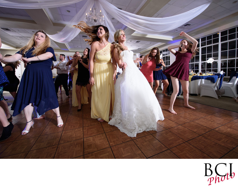 Best wedding reception images from Ballantrae