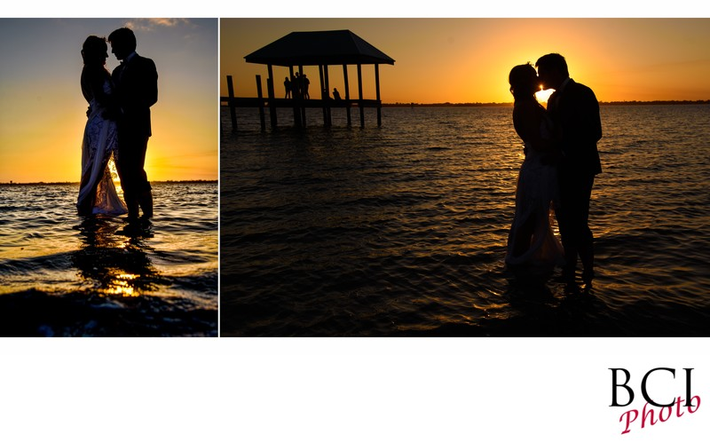 Sunset weddings at the house of refuge