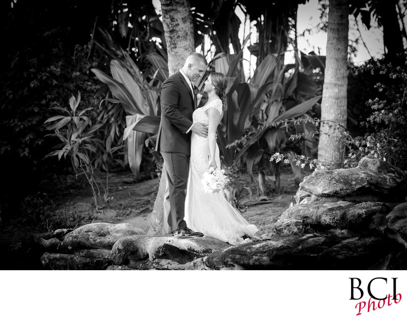 Wedding photographers who specialize in black and white