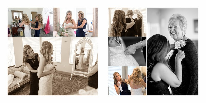 Bride getting ready shots at the Tuckahoe Mansion