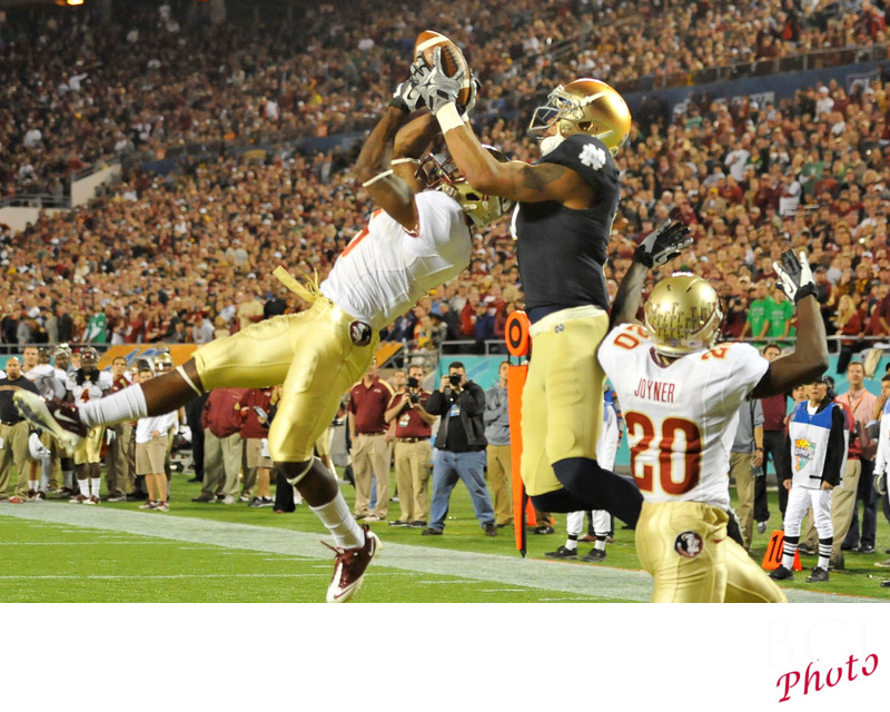 Football: Champs Sports Bowl-Notre Dame v Florida State