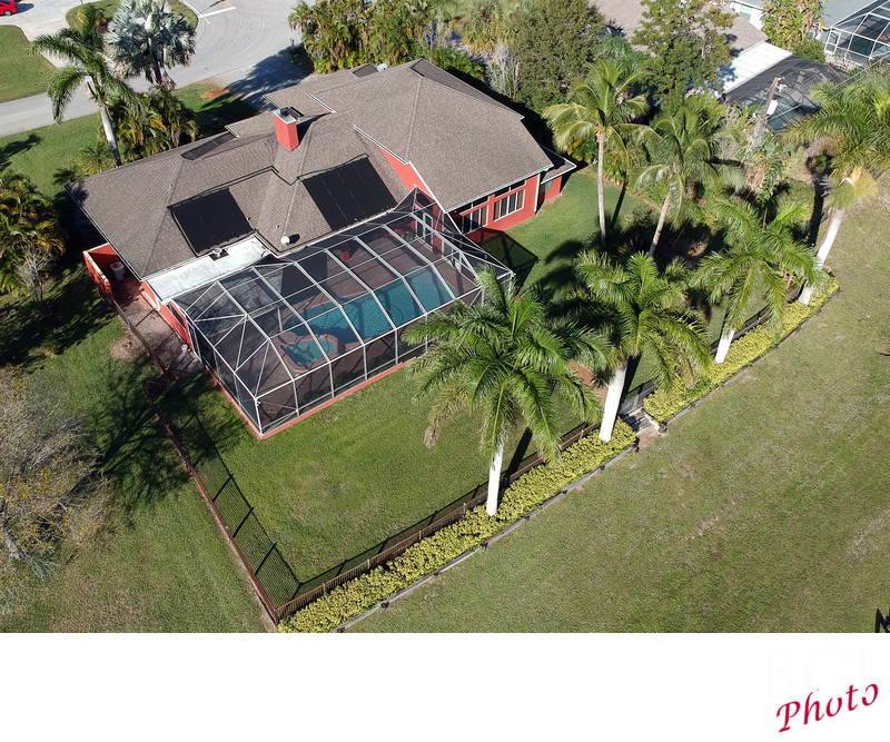 Aerial real estate photographers on the Treasure Coast