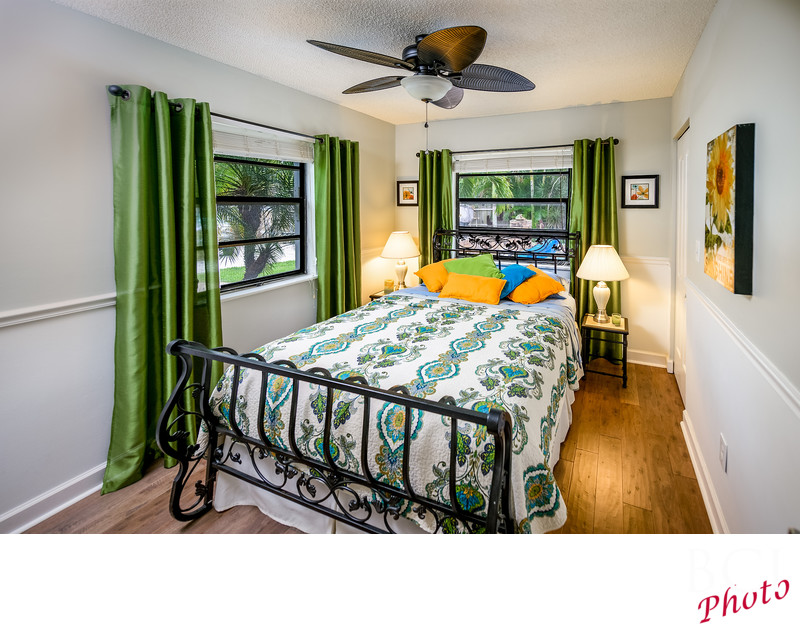 Interior photo of a bedroom suite in Stuart Florida