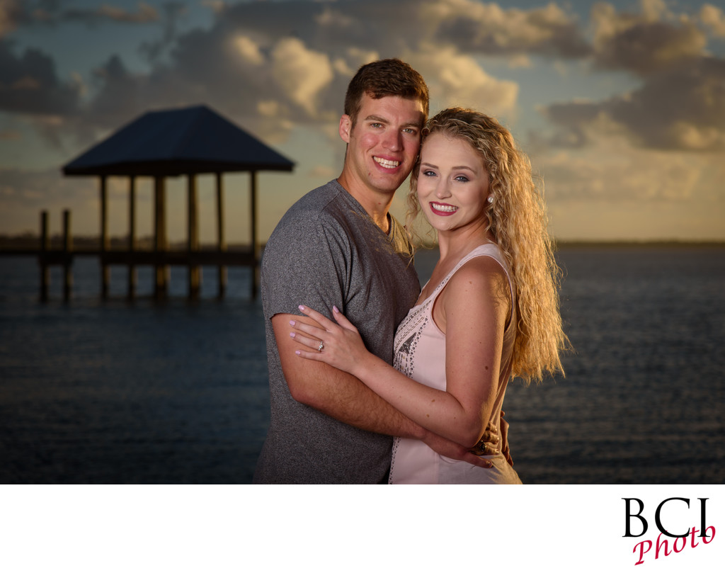Best engagement session photographers in palm beach