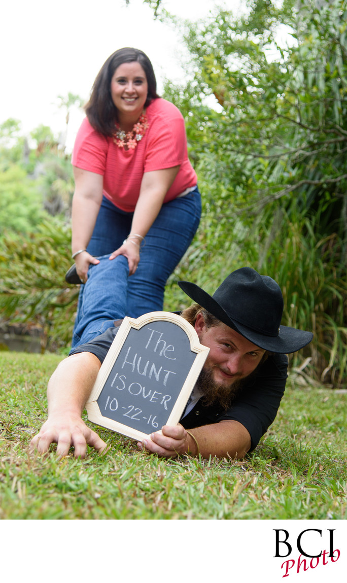 Pinterest syled Florida Engagement Session Images