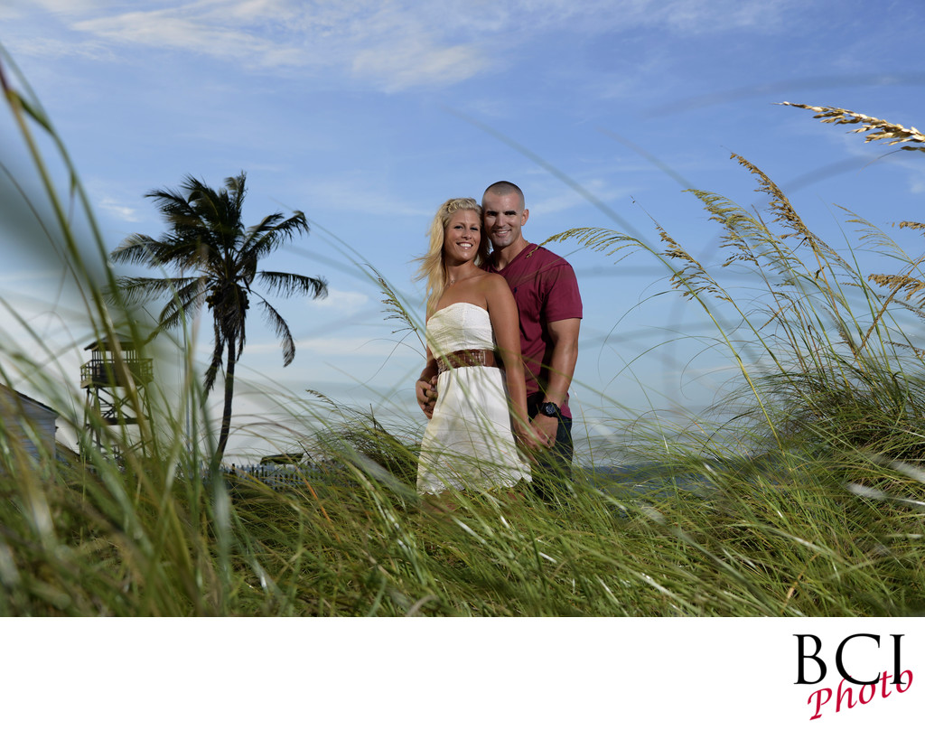 E-Session Images on the Beach