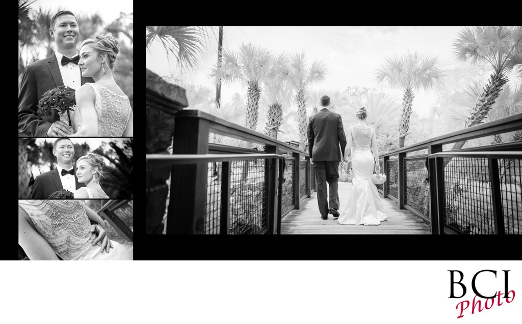 black and white romantic wedding images
