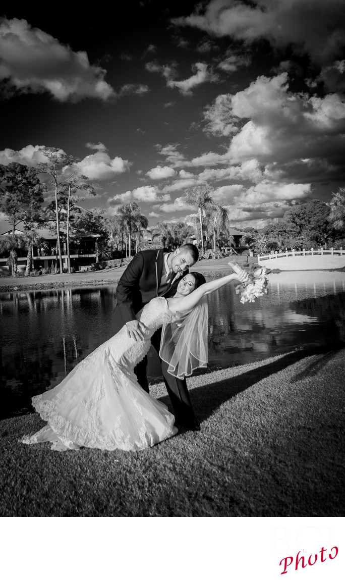 Florida Wedding Images at PGA CC