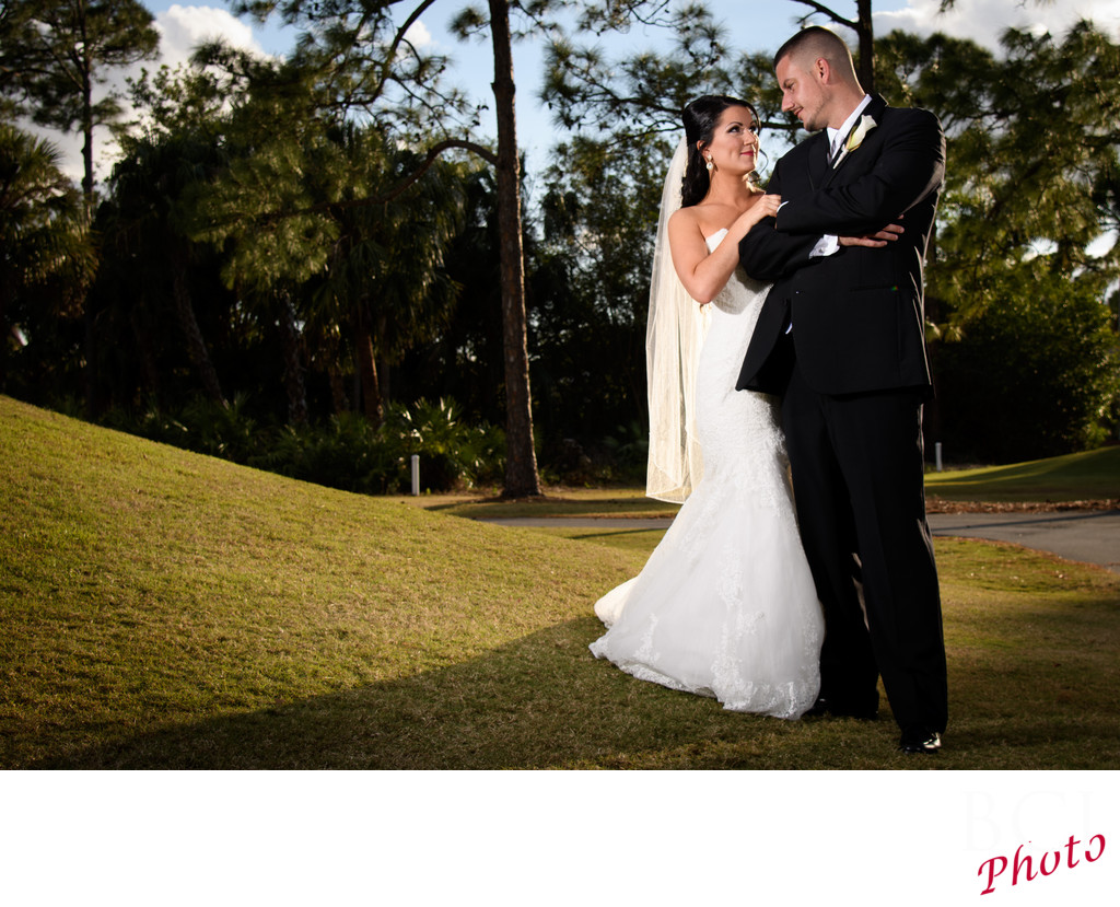 Wedding Images at St Lucie Trail Golf Club PGA Golf
