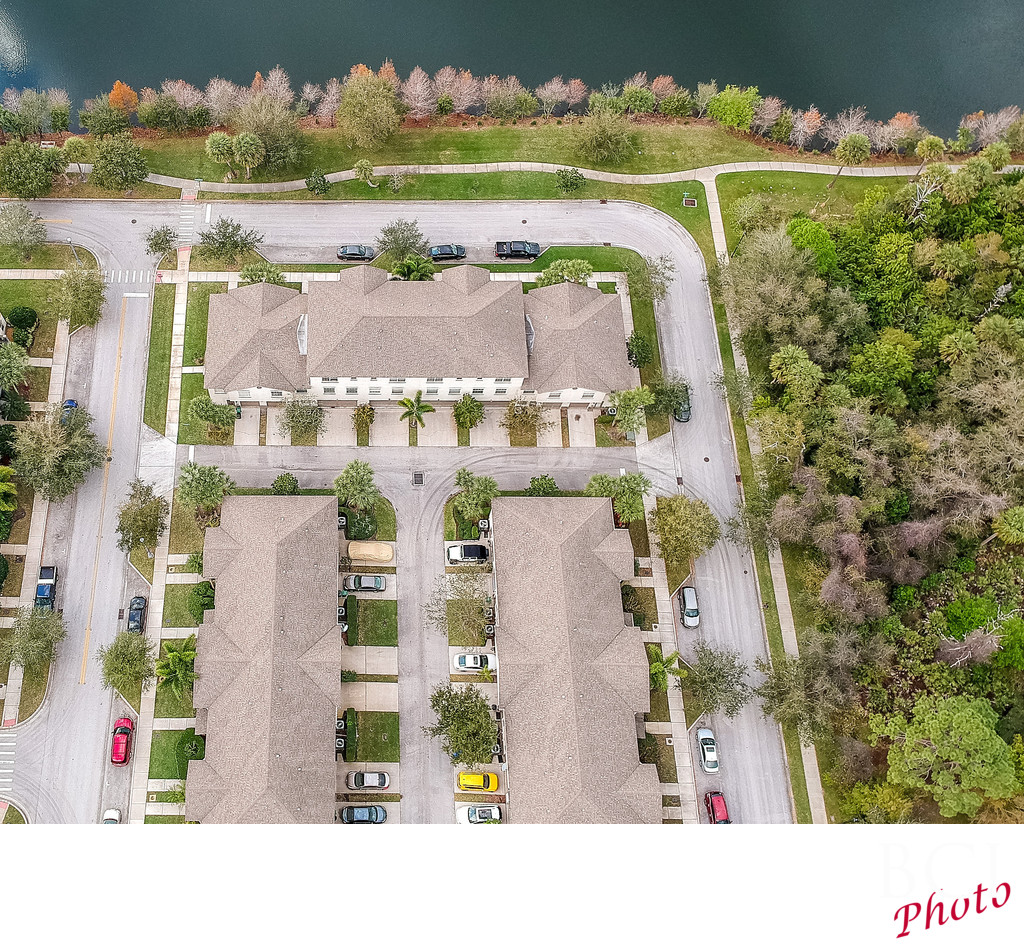 Drone pictures for real estate