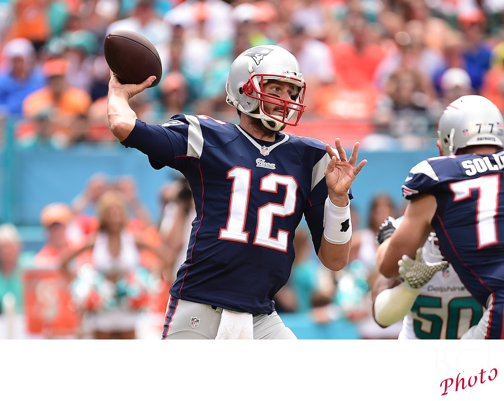 NFL: New England Patriots at Miami Dolphins