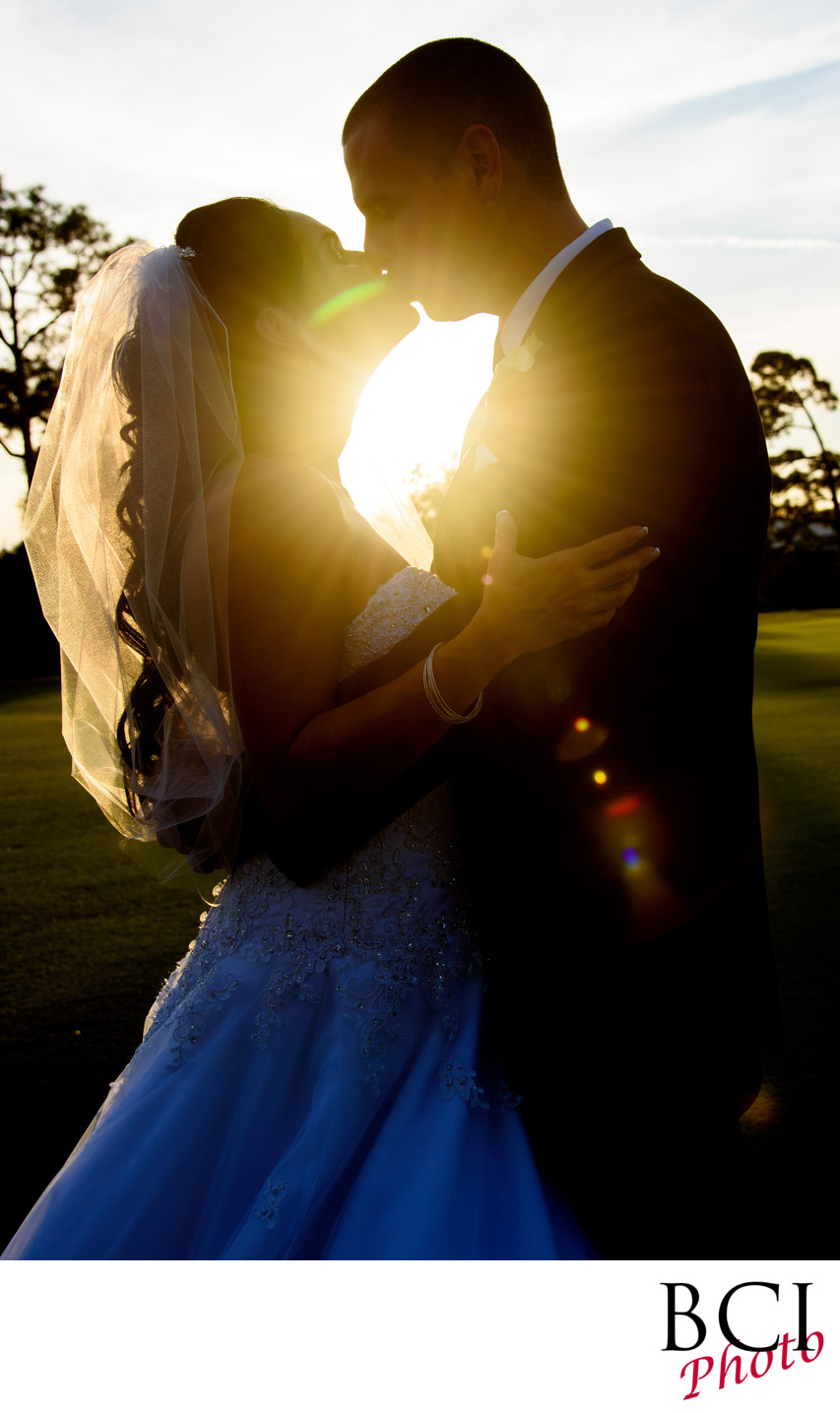 Great sunset wedding pictures from local weddings