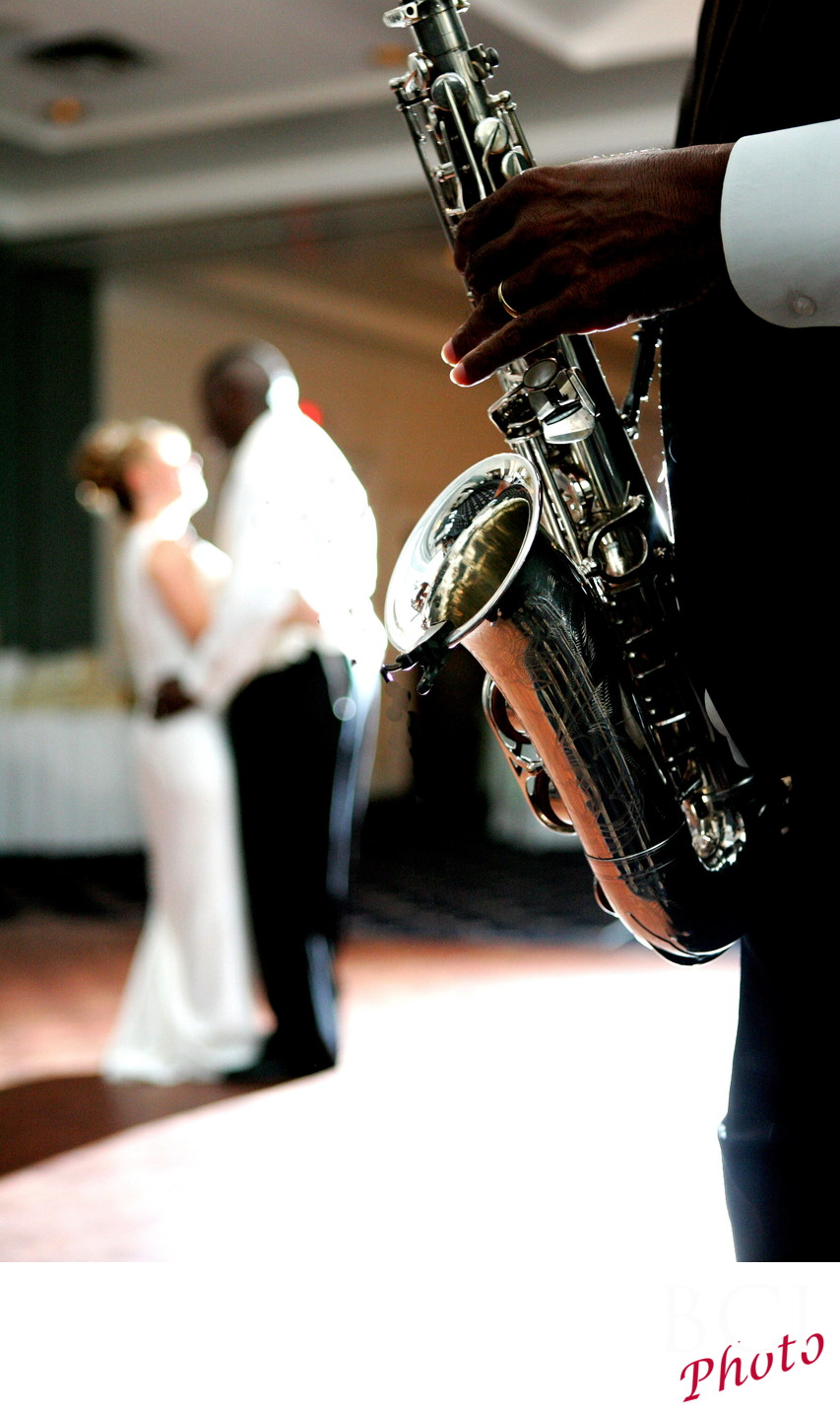 First dance with Saxaphone
