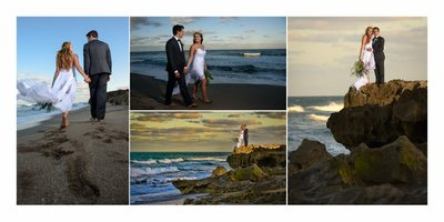 Beach wedding photographers on the Treasure Coast