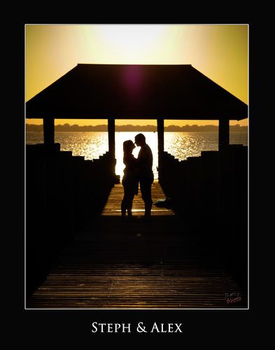Sunset Engagement Sessions @ the House of Refuge Stuart