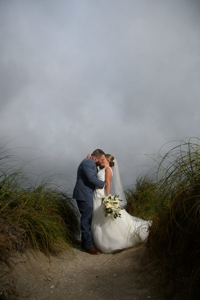 Amazing Wedding Photos from The House of Refuge in Stuart Florida.