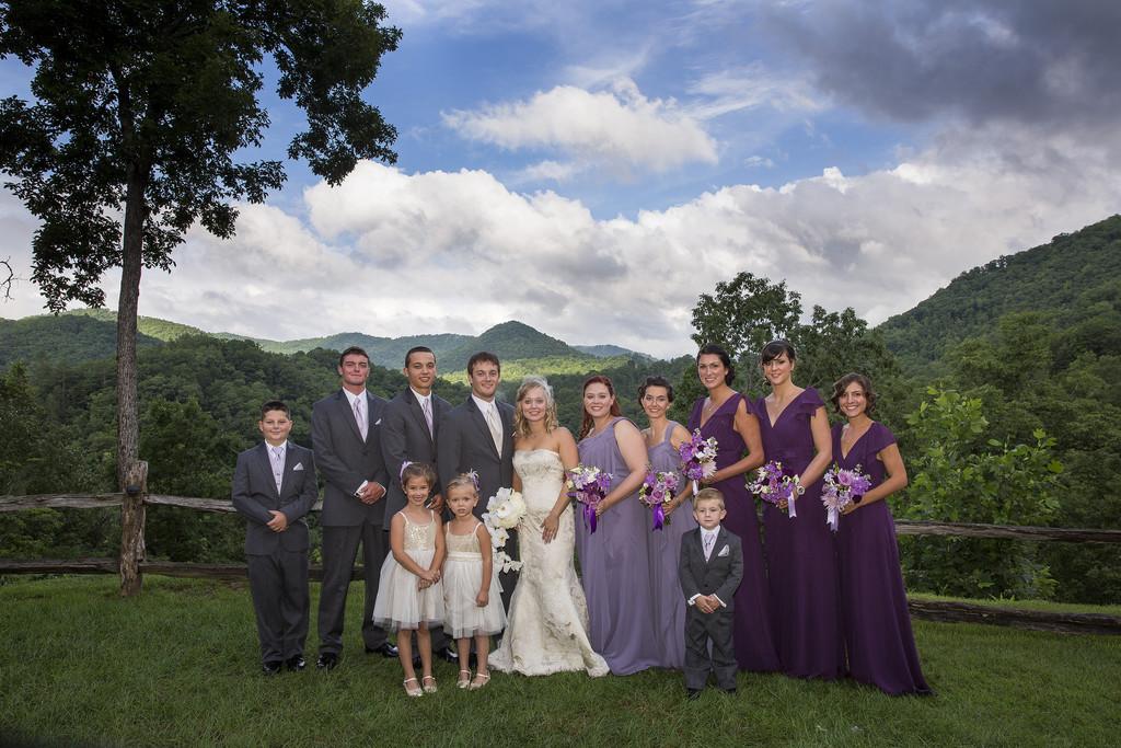 Castle Ladyhawke Wedding Party
