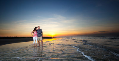 Beach Engagement Session SC