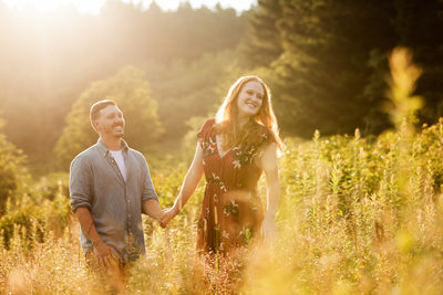 Cashiers NC  Engagement session