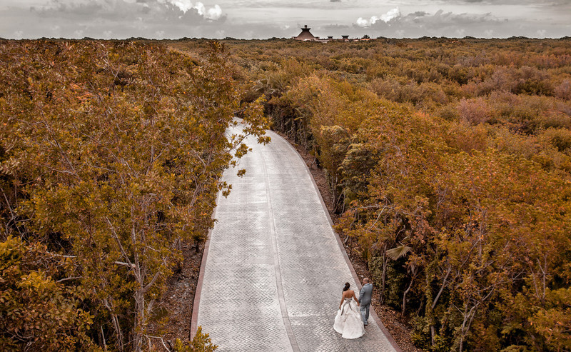 Wedding Photography in Riviera Maya-Mexico