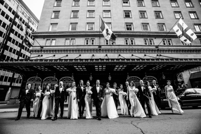 Montreal Wedding Photography at The Ritz-Carlton