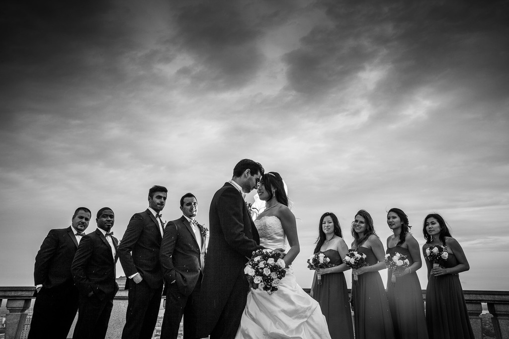 Montreal Wedding Photography at the Mont Royal Park