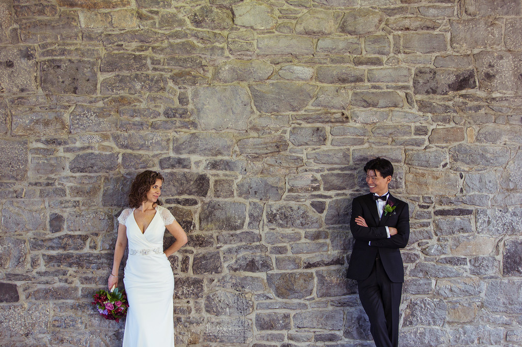 Montreal Wedding Photography at Marché Bonsecours
