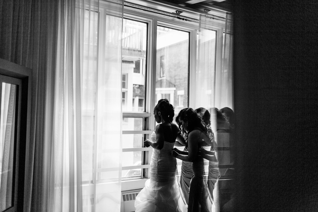 Montreal Wedding Photography at Espace Cormier - Loft Hotel