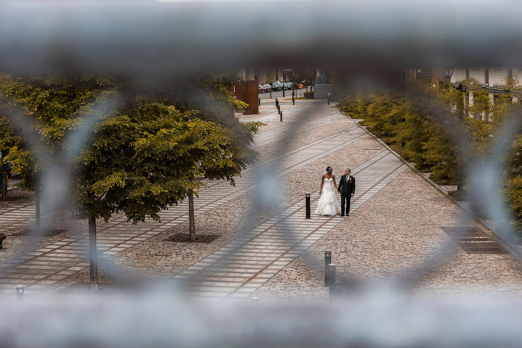 Wedding Photography in the Old Port of Montreal