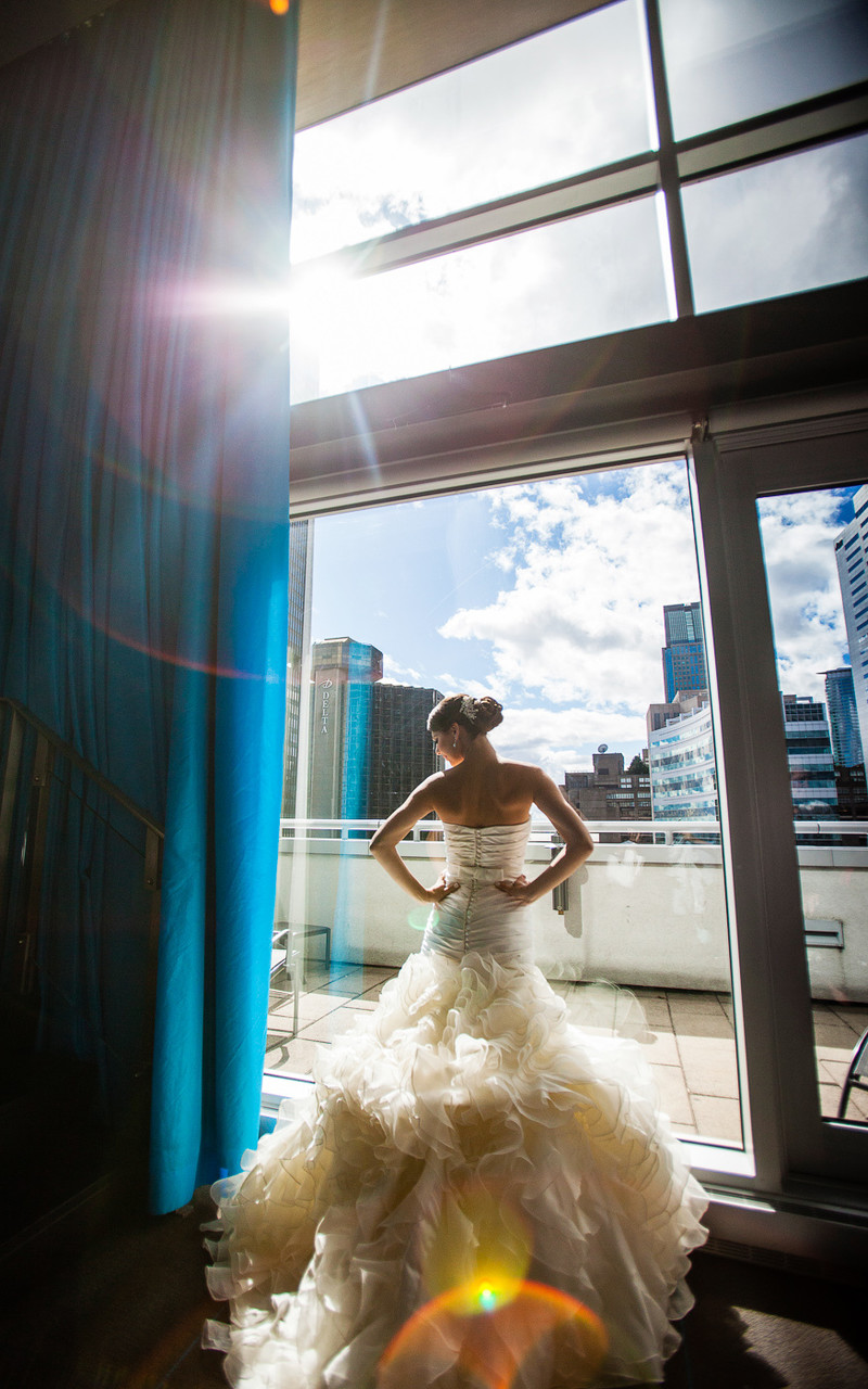 Montreal Wedding Photography at the W Hotel