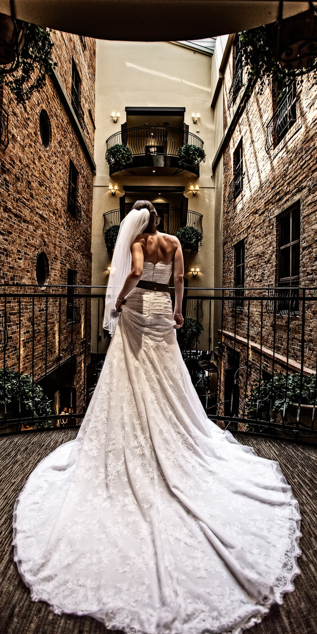 Wedding Photography at Hotel Nelligan in the Old Port of Montreal