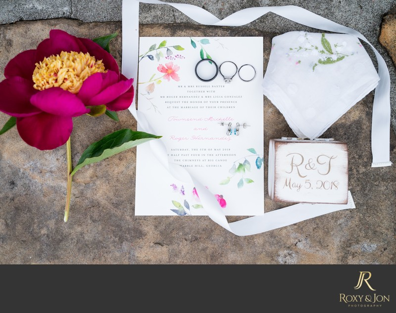Atlanta wedding invitation photo