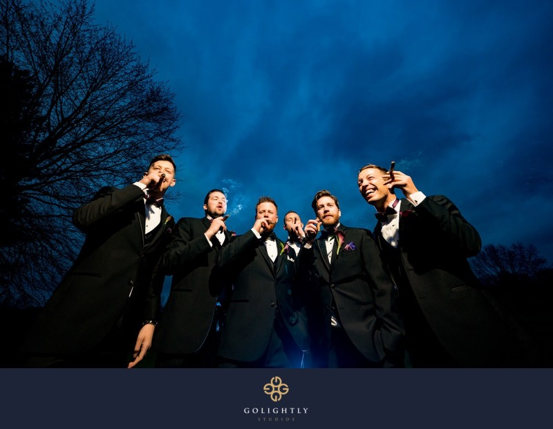 Knoxville Groomsmen Photo