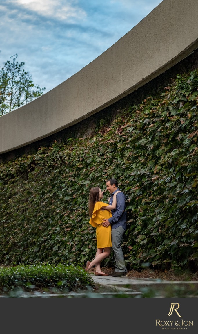 engagement session photos in Atlanta