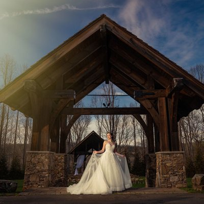 Dancing Bear Lodge Wedding Photographer