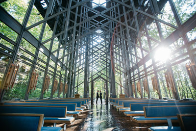Thorncrown Chapel Wedding Photos