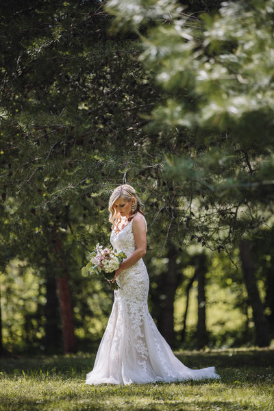 Backyard Wedding Photos