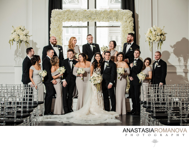 Downtown Club Philadelphia Wedding Photographer