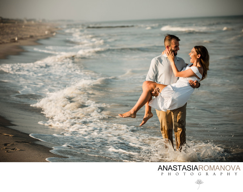 New Jersey Beach Summer Engagement