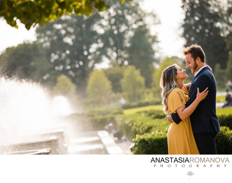 Longwood Gardens Engagement Session Inspiration