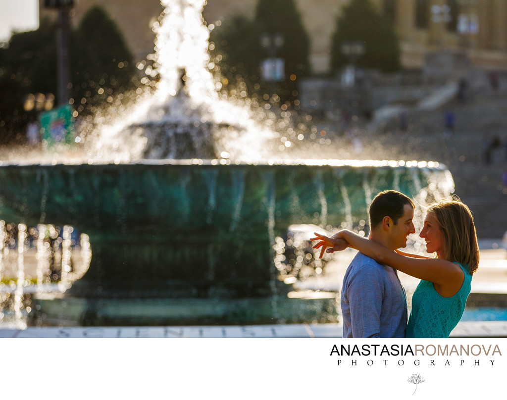 Philadelphia Museum of Art Engagement Photographer