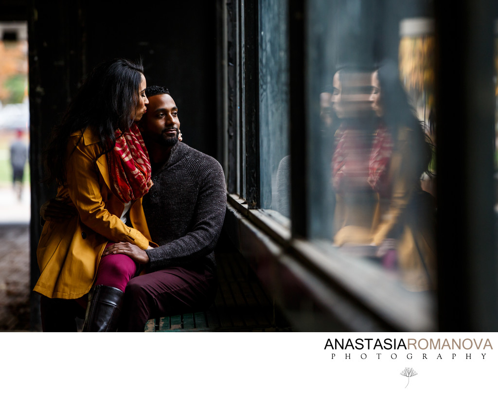 Philadelphia Fall Engagement Session Ideas