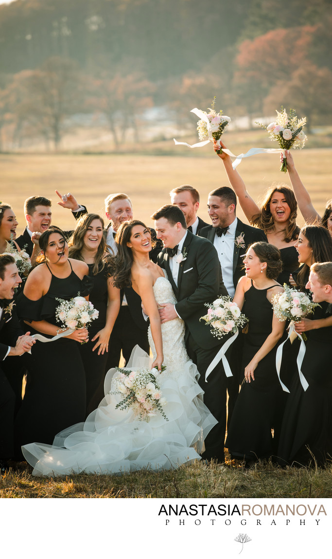 Valley Forge Wedding Bridal Party Photos