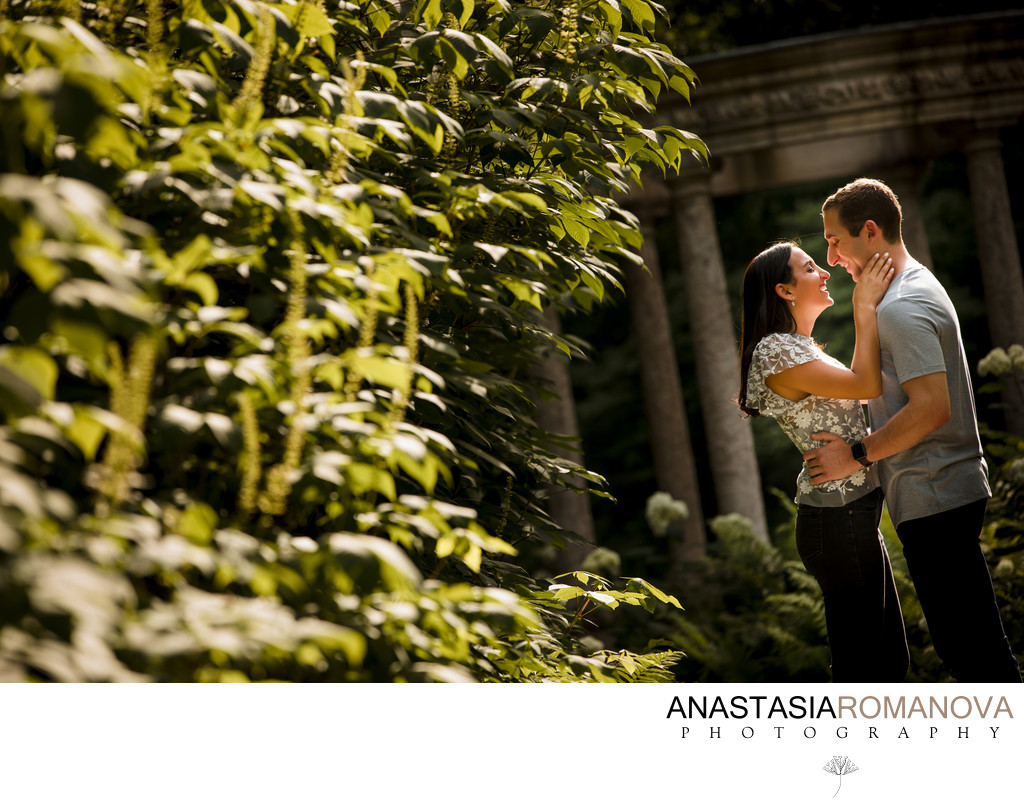 Longwood Gardens Philadelphia Engagement Photography