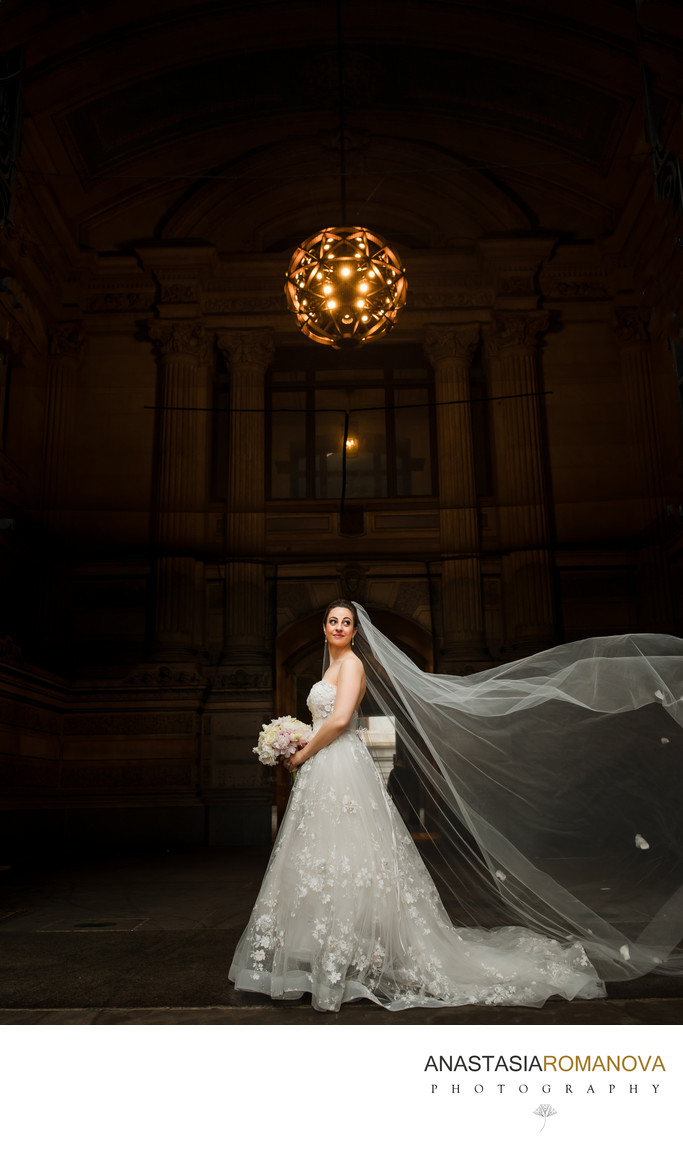 City Hall Philadelphia Bridal Photos