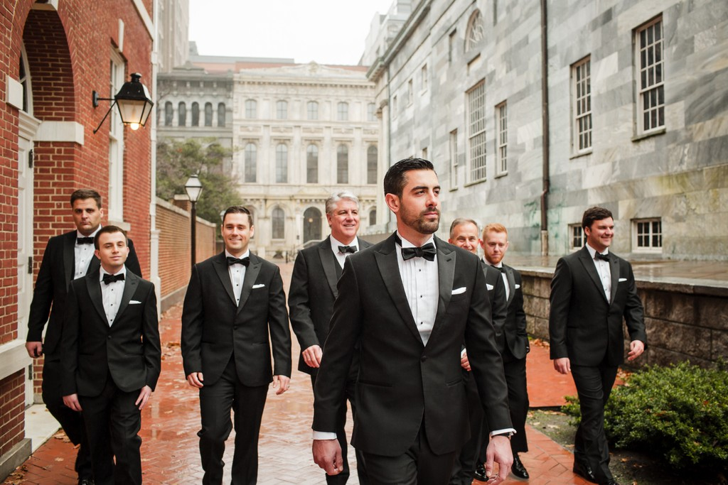 Wedding Photos of the Groomsmen in Philadelphia