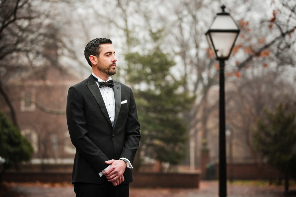 Groom Wedding Portraits in Philadelphia