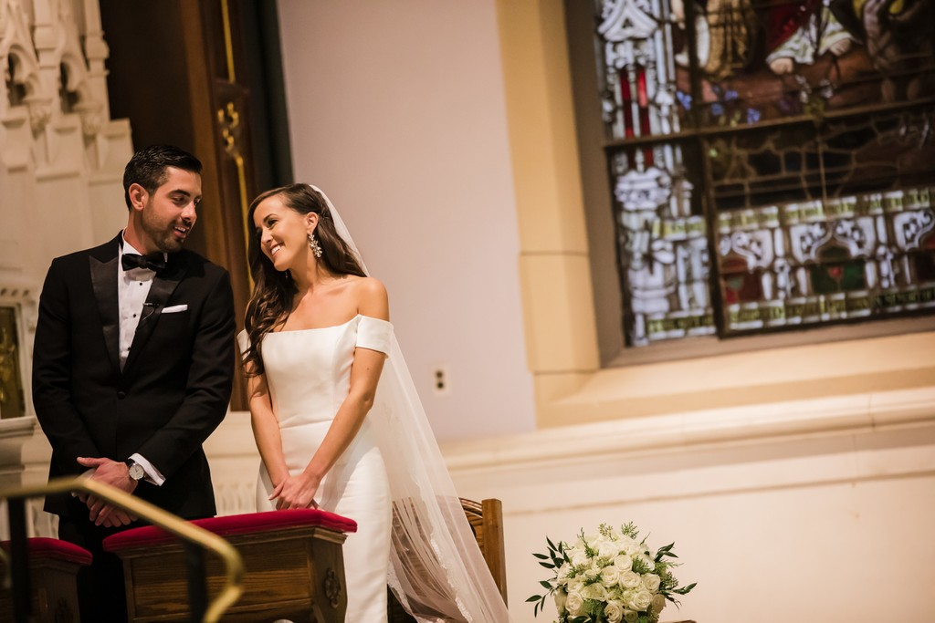 St. John Catholic Church Philly Wedding Ceremony