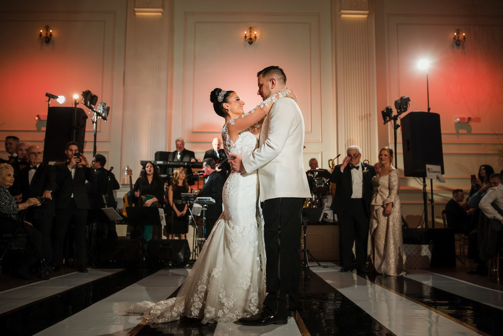 Cescaphe  Ballroom First Dance Wedding Photo