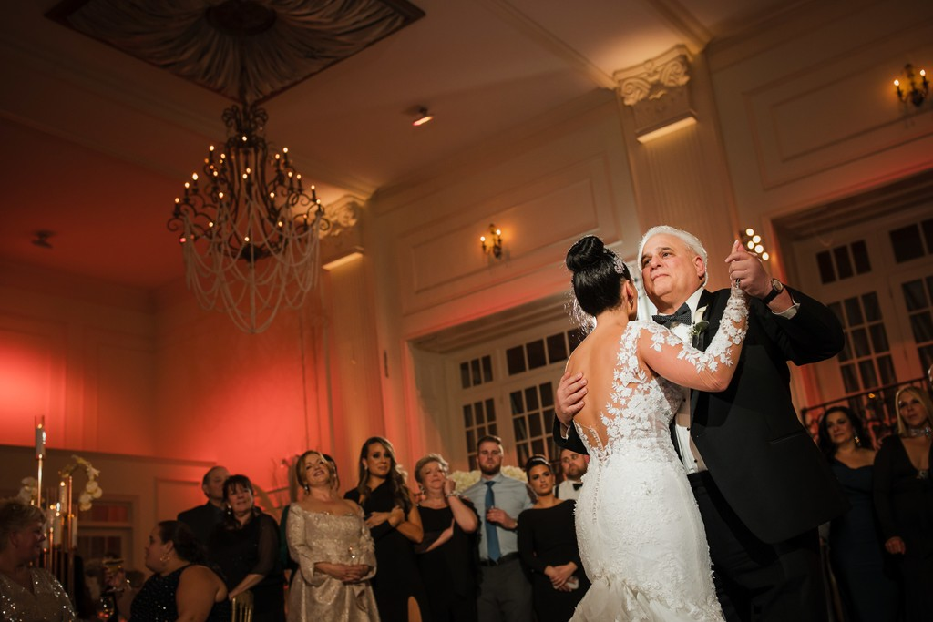 Fabulous Cescaphe Ballroom Wedding Reception Photo